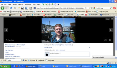 the new Facebook photo viewer